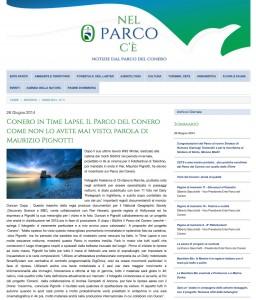 Pubblicazione Parco del Conero Italia